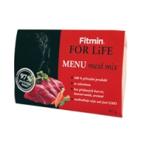 Fitmin For Life dog MENU meat mix 427g