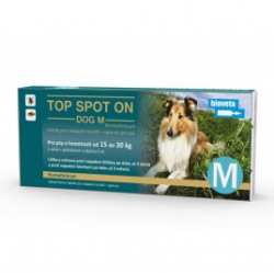 Top spot on Dog M 1x2ml (15- 30kg)